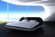 Styl futurystyczny / Domy i mieszkania w stylu futurystycznym. Więcej inspiracji szukaj na: http://www.werandacountry.pl/domy.