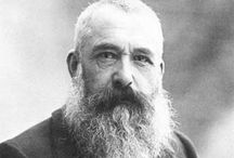 Monet, Oscar-Claude / a founder of French Impressionist painting, and the most consistent and prolific practitioner of the movement's philosophy of expressing one's perceptions before nature, especially as applied to plein-air landscape painting.  14 November 1840 – 5 December 1926