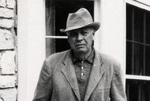 Hopper, Edward / A prominent American realist painter and printmaker. While he was most popularly known for his oil paintings, he was equally proficient as a watercolorist and printmaker in etching. Both in his urban and rural scenes, his spare and finely calculated renderings reflected his personal vision of modern American life. July 22, 1882 – May 15, 1967