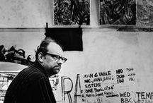Bratby, John Randall / English painter who founded the kitchen sink realism style of art that was influential in the late 1950s.  19 July 1928 – 20 July 1992