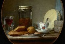 Chardin, Jean-Baptiste-Siméon / 18th-century French painter. He is considered a master of still life,[1] and is also noted for his genre paintings which depict kitchen maids, children, and domestic activities. Carefully balanced composition, soft diffusion of light, and granular impasto characterize his work. 2 November 1699 – 6 December 1779 (©wiki)