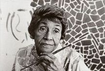 Thomas, Alma Woodsey / Alma Woodsey Thomas (September 22, 1891 – February 24, 1978) was an African-American Expressionist painter and art educator. She lived and worked primarily in Washington, D.C.