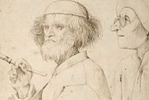 """Bruegel the Elder, Pieter and family / Pieter Bruegel (also Brueghel) the Elder, (c. 1525 – 9 September 1569) was a Netherlandish Renaissance painter and printmaker from Brabant, known for his landscapes and peasant scenes (so called genre painting). He is sometimes referred to as the """"Peasant Bruegel"""". From 1559, he dropped the """"h"""" from his name and signed his paintings as Bruegel."""