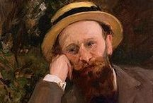 Manet, Édouard / Édouard Manet (23 January 1832 – 30 April 1883) was a French painter. He was one of the first 19th-century artists to paint modern life, and a pivotal figure in the transition from Realism to Impressionism.