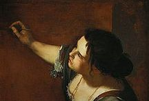 Gentileschi, Artemisia / Artemisia Gentileschi  (July 8, 1593 – c. 1656) was an Italian Baroque painter, today considered one of the most accomplished painters in the generation following that of Caravaggio. In an era when women painters were not easily accepted by the artistic community or patrons, she was the first woman to become a member of the Accademia di Arte del Disegno in Florence.
