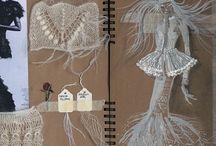 5. Fashion Design, Inspiration and sketchbooks