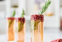 Psychedelic Alcoholic Cocktails / Let the colours and flavours seduce you...