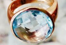 gemstone jewelry: rings / anelli