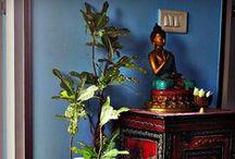 Sacred space / spazio sacro / Cose e idee per creare uno spazio dedicato allo yoga, alla meditazione o per circondarci di ottima energia