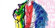 2. Contemporary Fashion Illustration (portfolio) / Contemporary fashion illustration. Fashion sketches and fashion illustration. Watercolors, pastels and markers drawings. Fashion illustration and fashion paintings from my instagram, etsy shop and behance portfolio.  #fashion #art #watercolor  https://www.instagram.com/asya_melkonyan/