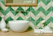 Inspiring: Backsplash / by Lemon Jitters