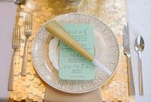 TABLETOP STYLE / Set a beautiful table and you paved the pathway of the meal to someones heart. / by ANGELMUSE