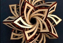 Design: Maker  / Laser cut, CNC, router, flat pack, woodworking, and design inspiration.