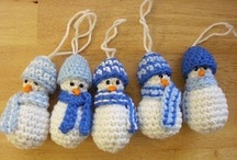 Winter Crochet / Holidays, events, and seasonal themes that occur in the Winter months.