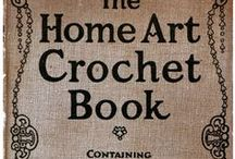 Crochet & Lace Books / Books and magazines on crocheting, lace making, and other forms of needle work.