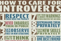 Introvert Alert / by Dawn McIlvain Stahl Editorial Services
