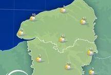 Haute-Normandie / La Haute-Normandie est connue pour ses immenses falaises d'Etretat, ses petits ports de pêche et sa majestueuse ville de #Rouen ! Découvrez toutes les informations, les prévisions météo et les plus belles images de la #HauteNormandie dans ce tableau ! / by MeteoCity
