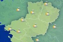 Pays de la Loire / La région Pays de la Loire est connue pour ses nombreux châteaux qui bordent la Loire et pour son littoral... Mais pas seulement ! Découvrez toutes les informations, les prévisions météo et les plus belles images des #PaysdelaLoire dans ce tableau ! / by MeteoCity