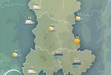 Auvergne / L'Auvergne est connue pour sa chaîne de volcans et ses paysages vallonnés... Découvrez toutes les informations, les prévisions météo et les plus belles images d' #Auvergne dans ce tableau ! / by MeteoCity