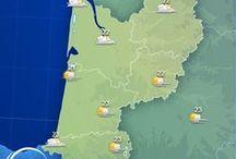 Aquitaine / L'Aquitaine est connue pour immenses plages et ses spots de surf magnifiques mais pas uniquement... Découvrez toutes les informations, les prévisions météo et les plus belles images d' #Aquitaine dans ce tableau ! / by MeteoCity