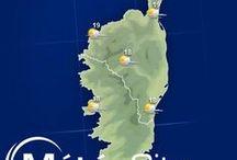 Corse / La Corse ou l'île de beauté est un mélange de montagne de caractère et de plages paradisiaques... mais pas que ! Découvrez toutes les informations, les prévisions météo et les plus belles images de la #Corse dans ce tableau ! / by MeteoCity