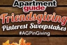 "Apartment Guide ""Friendsgiving"""