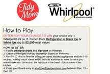 Whirlpool Holiday Pin It to Win It