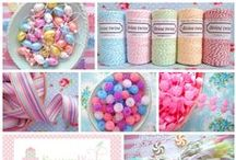 Crafty Supplies / Unique & lovely supplies for crafting / by Sew Can Do