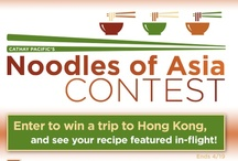 Cathay Pacific's Noodles of Asia Contest