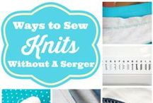 Sewing Skills Tutorials / by Sew Can Do
