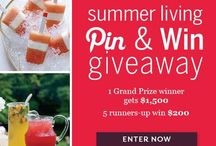 Food and Wine Summer Living