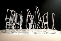 Wire / Sketching in 3D. / by Wayne Maxwell