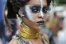 The Bold and the Beautiful: Accessories / Maximalist.  Audacious.  Not for shrinking violets.  Speak softly and wear a loud necklace.  More is more.  Neutral is for sissies.                      # gypsy # boho # African style # ethnic style # catwalk jewelry # boho chic # ethnic jewelry # African jewelry # statement jewelry / by Laurie Hannegan