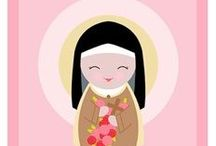 St. Therese of Liseux / To celebrate her feast day