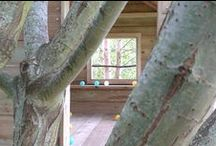 Living With Trees / I build bespoke tree houses and children's play areas, I am based in the Cotswold's, but will travel to constructs places for children to play.#tree houses #Cotswold's#children's play spaces.