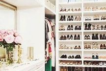 Closets & Wardrobes / Dream closets and dressing rooms. Closet design ideas and tips.   I like my money right where I can see it... hanging in my closet. Sarah Jessica Parker