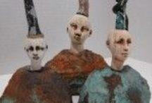 Design: Figures, Art Dolls, Puppets / by Alyssa Ravenwood