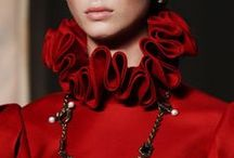 fashion & style: details / artistic and inspired design details and surface embellishments