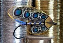 Fly Tying - Ooooh Pretty! / Not the sort of fishing that Kim normally does up here but ooooh, these I like! / by Debi Kolenchuk