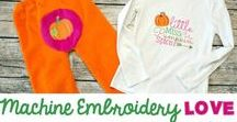 Machine Embroidery Love / All things Machine Embroidery!  Tips, tricks, guides, materials and of course, great designs!