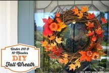 Fabulous Fall Craft Ideas / Crafts, DIY & Tasty Goodies for lovers of Fall.