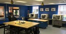 Humboldt Creator Lab: MakerSpace / Creating a makerspace. Laser cutting/etching, 3-D Printer, Arduino, CNC machines, Sewing, Woodworking, Metalworking, etc.