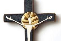 Crosses / Handmaded artworks, porcelain, stoneware, mosaic....