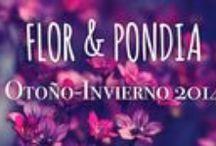 FLOR & PONDIA / Empresa líder y casi pionera en la realización de coronas florales y todo tipo de tocados y decoraciones para tu peinado.