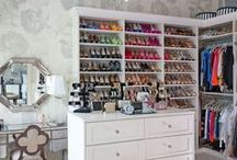 Walk in closets - I want!!!!