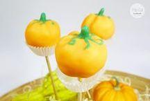 Cake Pop Tutorial: Kürbis Cake Pops / Do it yourself Tutorial für einen Cake Pop in Kürbis Form