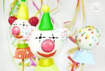 Cake Pop Tutorial: Clown Cake Pops / In 6 Schritten zum Clown Cake Pop!
