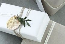 WRAPPING | PACKAGING / The joy of opening a perfectly wrapped box or a parcel is often underestimated.
