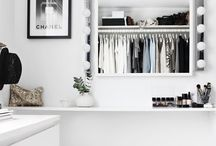CLOSETS / Standard closets, dreamy walk-in closets, wardrobes, open hanging rails, rack rails, beautiful shoe racks - anything to manage, hide or display your fabulous wardrobe.