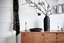 CABINET & SIDEBOARD STYLING / We have a bit of a thing for cabinets, display cabinets, sideboards. They can be an unusual but very practical feature, offering lots of storage while displaying some of your treasures and favourite items or just look majestic, mysterious and grand.